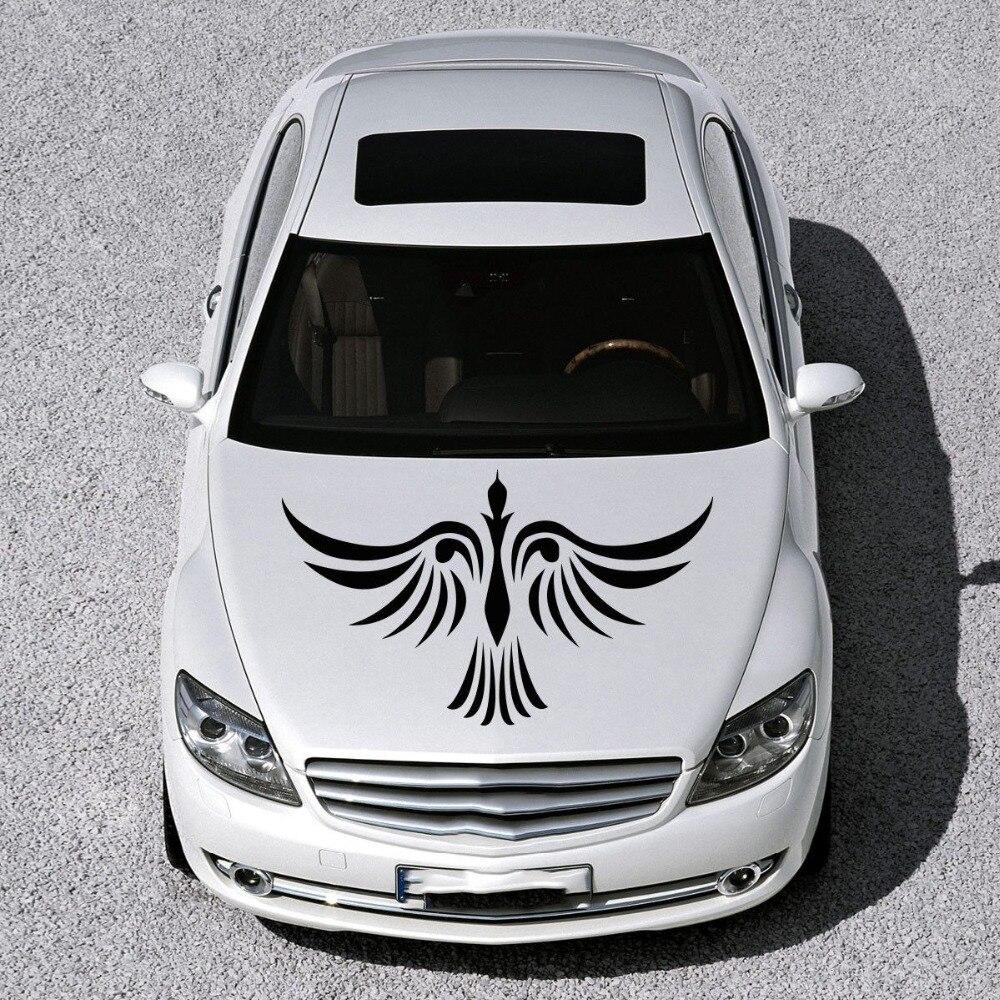 Design a car sticker online - Car Hood Vinyl Decal Graphics Stickers Murals Design Phoenix Bird Tattoo China Mainland