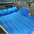 2016 (Black) Universal SUV Car Travel Inflatable Mattress Inflatable car bed for back seat Bed Cushion flocking material!!