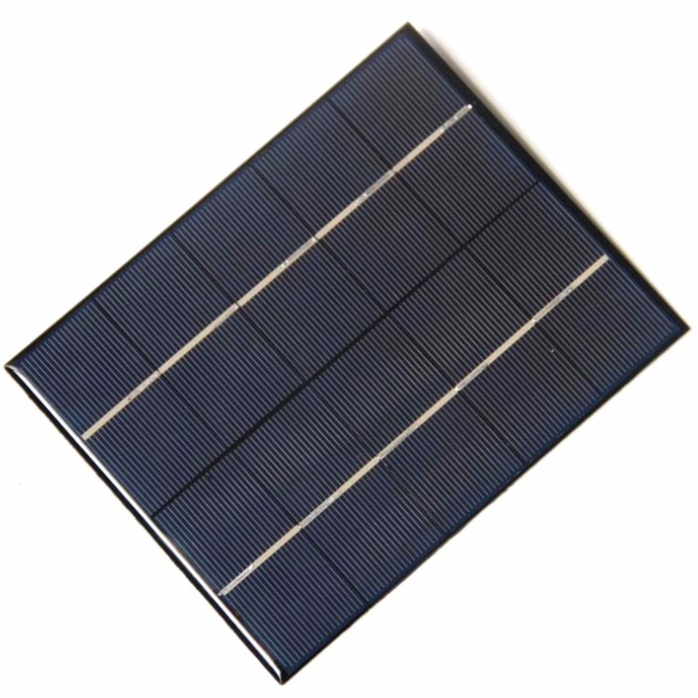 Ultra Thin 3.5W 5V Solar Panel Charging High Efficiency Portable Solar Panel Charger For Mobile Phone Rechargeable 18650 Battery