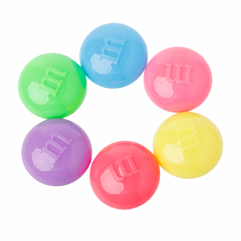 Small M Bean Slime Clay Crystal Mud Non-Toxic Ramen Putty Children Puzzle Toys ...