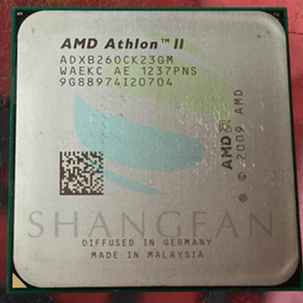 AMD Athlon  X2 B260 3.2GHz Dual-Core CPU Processor  ADXB260CK23GM Socket AM3 938pin