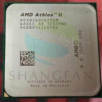 AMD Athlon  X2 B260 X2 B26  3.2GHz Dual-Core CPU Processor  ADXB26OCK23GM Socket AM3 938pin