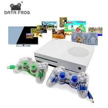 Данных лягушка HD TV игровых консолей 4 ГБ игровой консоли поддержку HDMI TV OUT встроенный 600 классические игры для GBA/SNES/SMD/ne формат