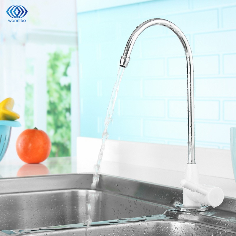 ABS Plating Drinking Water Purifier Ceramic Faucet Filter Filtration Household Kitchen Faucet Fittings 1/4inch iwhd gold iron style loft industrial vintage pendant lights retro birdcage hanging lamp kitchen dining room luminaire suspendu