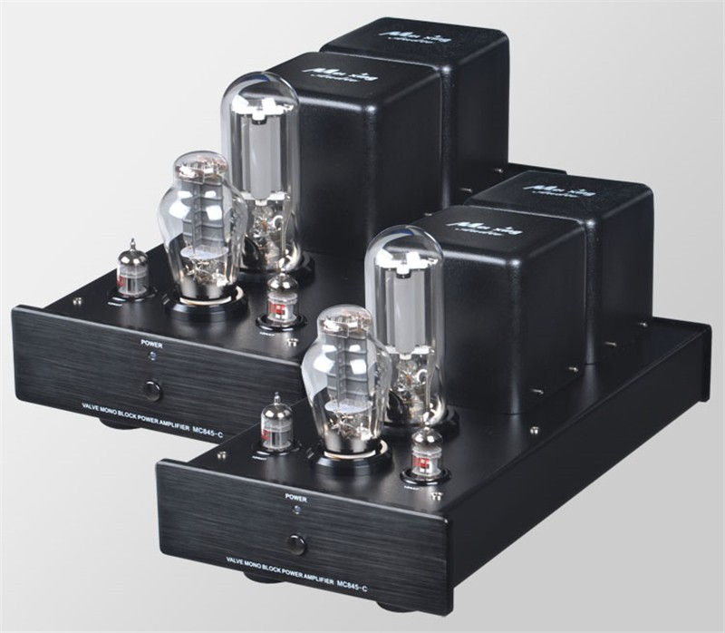 Meixing Mingda MC845-C ST MonoBlock Pure Power Tube amplifier HIFI EXQUIS 300B Push 845 Class A Lamp Amp Standard version meixing mingda mc368 b kt88 push pull tube amplifier hifi exquis high power 50wx2 integrated lamp 6n8p 6sn7 amp