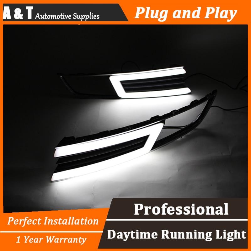 стайлинга автомобилей для Лавида светодиодные противотуманные фары дневного света руководство высокая яркость СИД DRL света стиль руководства