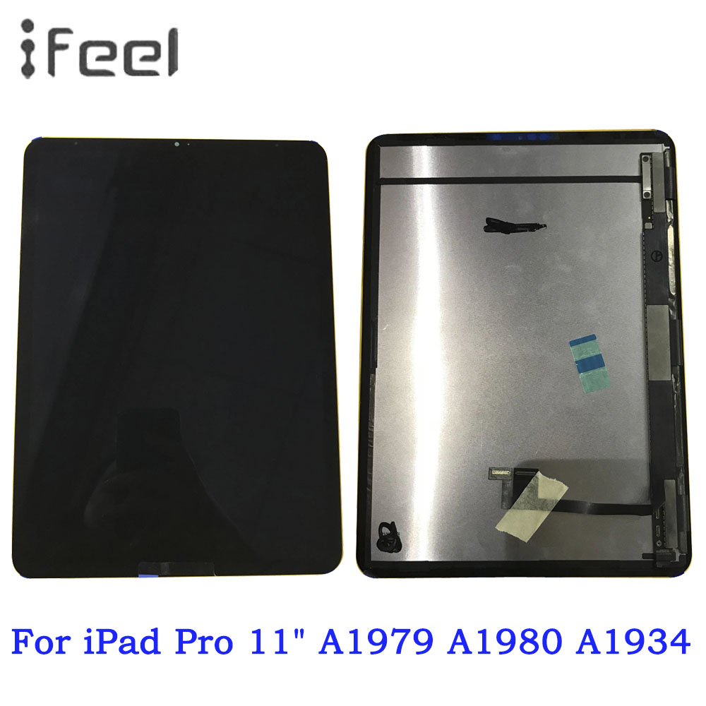 100% Tested LCD Display Touch Screen Digitizer Assembly For iPad Pro 11 2018 Year A1980 A2013 A1934 A1979 Tablet Full screen100% Tested LCD Display Touch Screen Digitizer Assembly For iPad Pro 11 2018 Year A1980 A2013 A1934 A1979 Tablet Full screen