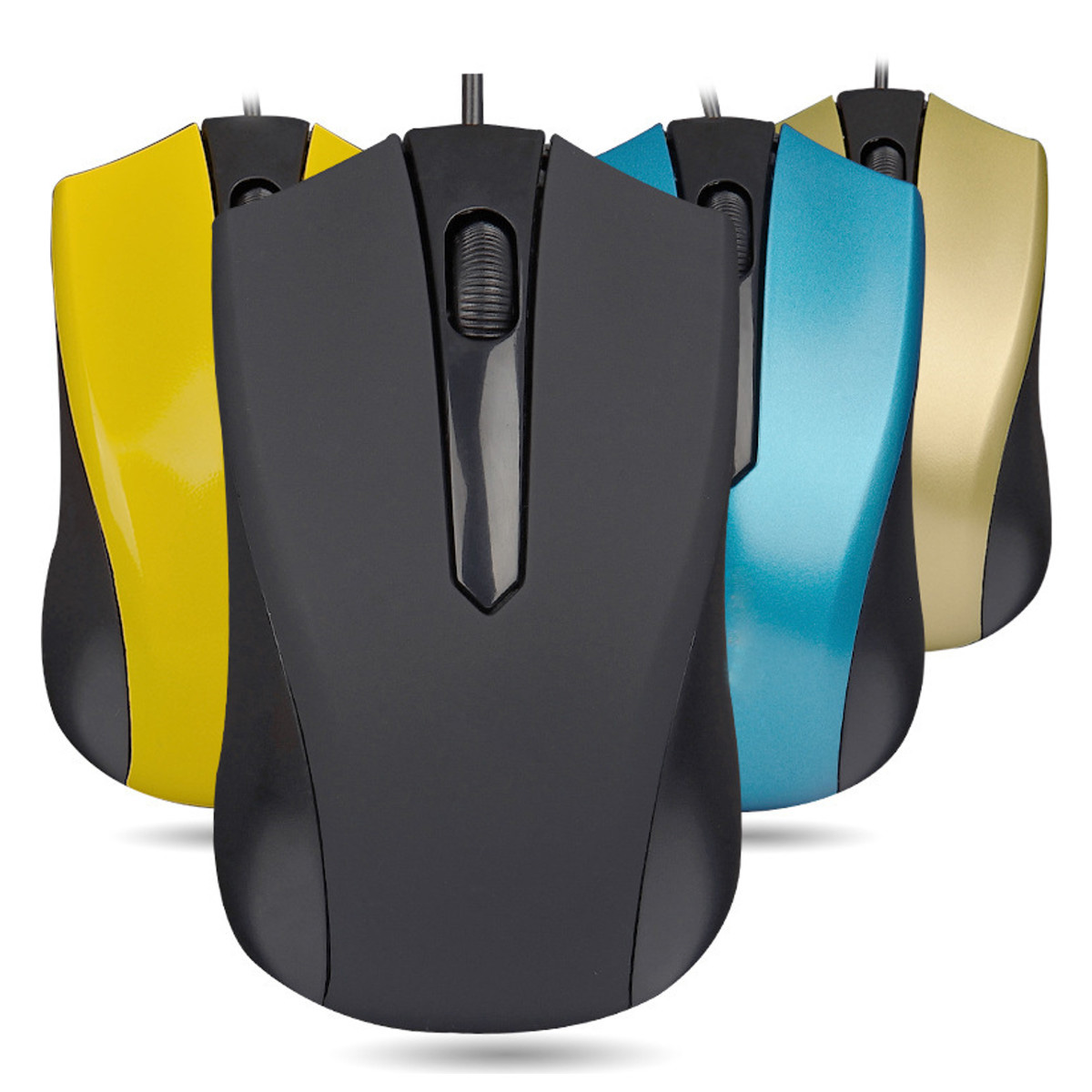 Online color wheel games - New 1pc Usb Wired Office Mouse Mice Scroll Wheel 3 Button 1000dpi For Computer Desktop Pc