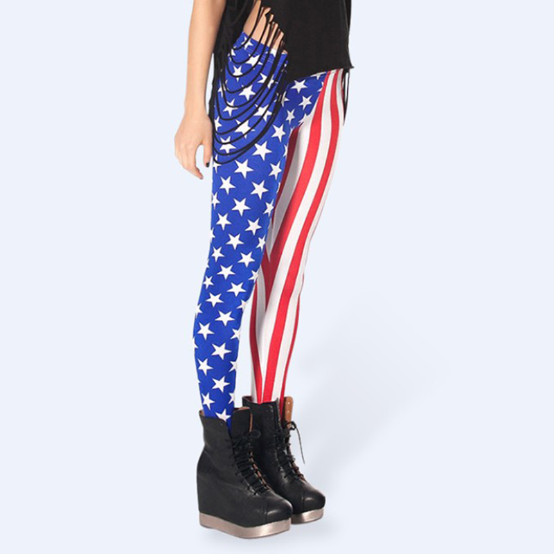 188993194b33a USA National Flag Leggings Girls Patterned Leggings Casual Stretchy  Slimming Pants-in Leggings from Women's Clothing on Aliexpress.com |  Alibaba Group