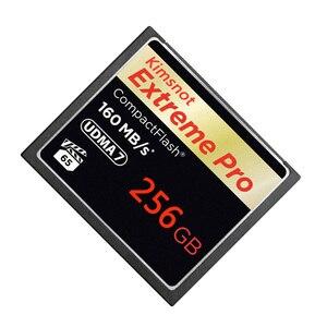 Image 4 - Kimsnot ekstremalny profesjonalista karta pamięci kompaktowa karta pamięci 32GB 64GB 128GB 256GB karta cf Compactflash wysoka prędkość 160 mb/s 1067x UDMA 7