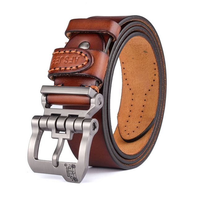 cinto masculino 2017 designer high quality  luxury brand genuine leather  pin buckle belts for men  casual business men belts