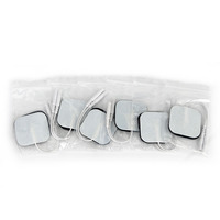 50pcs Self Adhesive Replacement Tens Electrode Pads Square 4 4cm Muscle Stimulator Electric Digital Machine Massager
