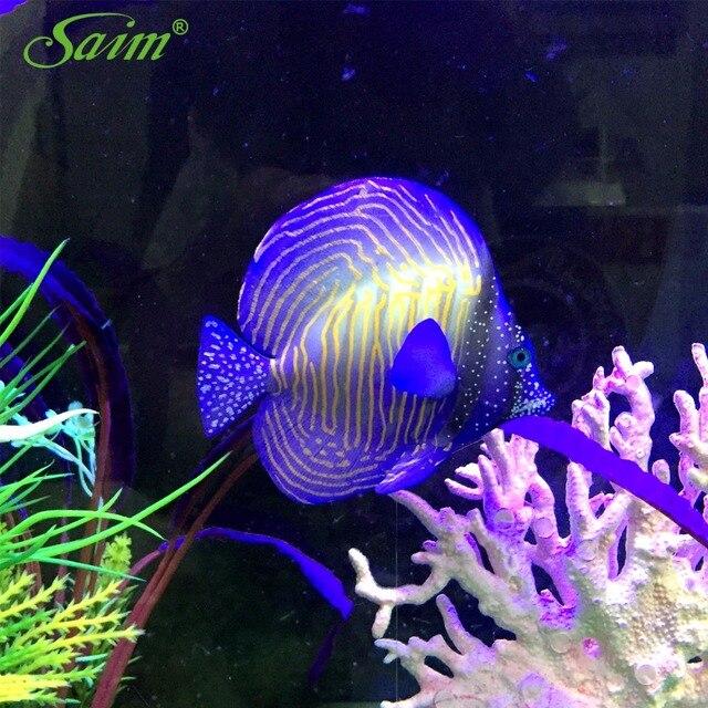 3 5 floating fisch aquarium dekorationen k nstliche aquarium ornamente acuarios gummi streifen. Black Bedroom Furniture Sets. Home Design Ideas
