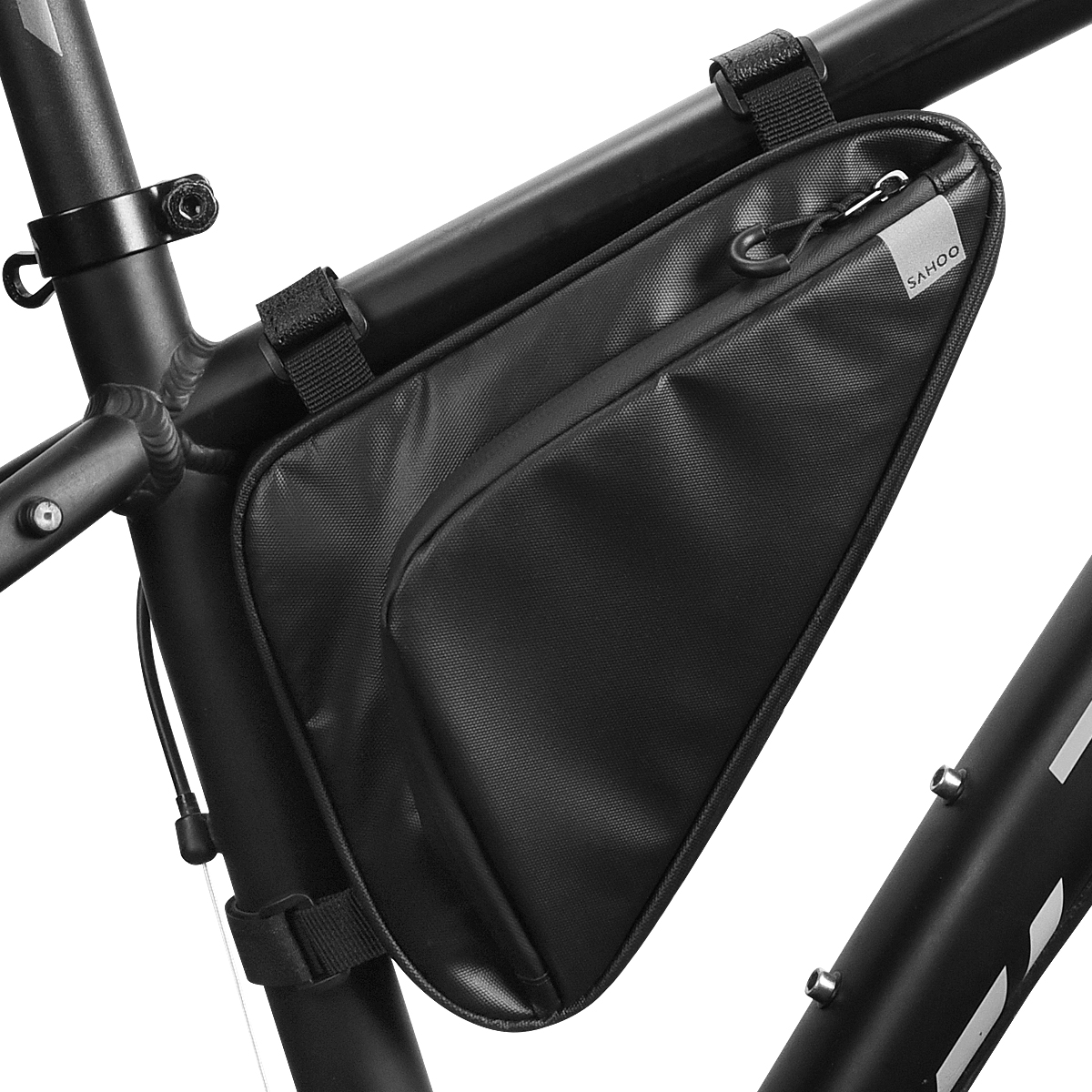 High Capacity Top//Seat Tube Bag for Bike Bicycle Cycling Storage Pouch Oxford