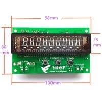 E & M 0-30 V 0-5A TTL USB pantalla VFD Panel de pantalla SCM fluorescentes de vacío visualizador gráfico para tensión de amperímetro