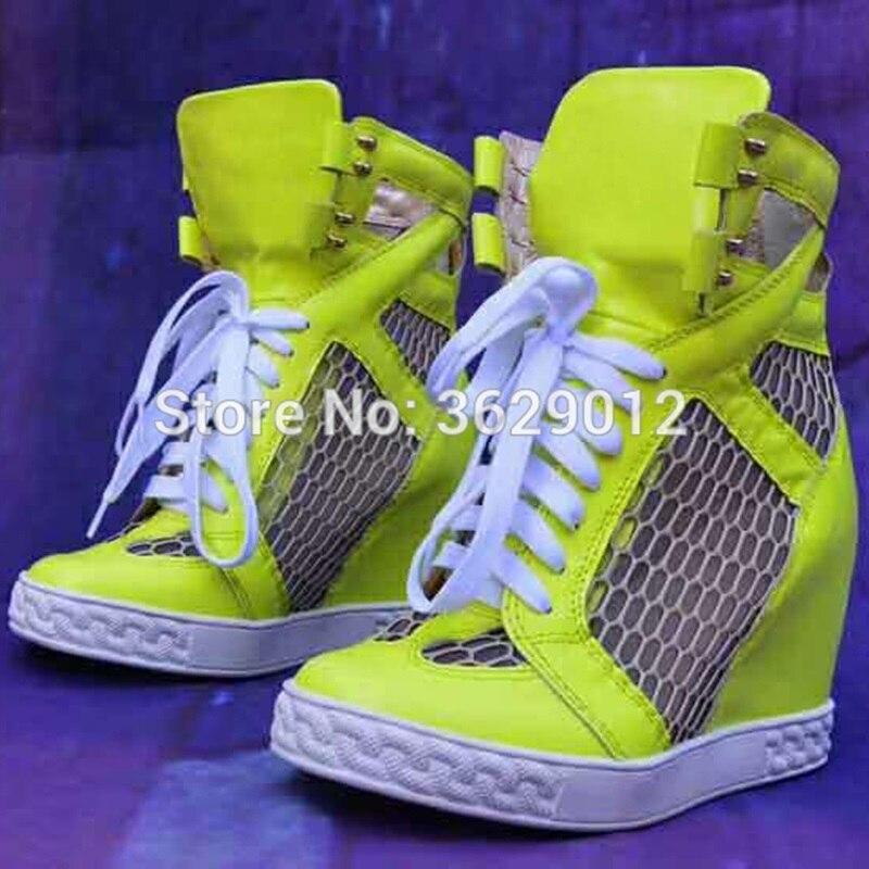 Color Bottes Femmes Hauteur Out Plate Lacent Talons Lynskey Maille Chaussures Mode Respirant Dames Cheville 2 color Des forme 1 Coins Croissante Cut color 3 rxtBsdhQCo