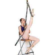 Adjustable Sport Stretch Strap D-Ring Belts Gym Waist Leg Fitness Yoga Belt New Cross Fork Open Ligament Taekwondo Splits Assist