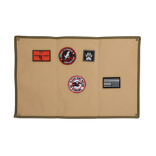 Patch Board Rectangular Nylon Folding Reusable Hanging Badge Display Holder Pad Military Patch Baord Morale Patch Display Frame цена и фото