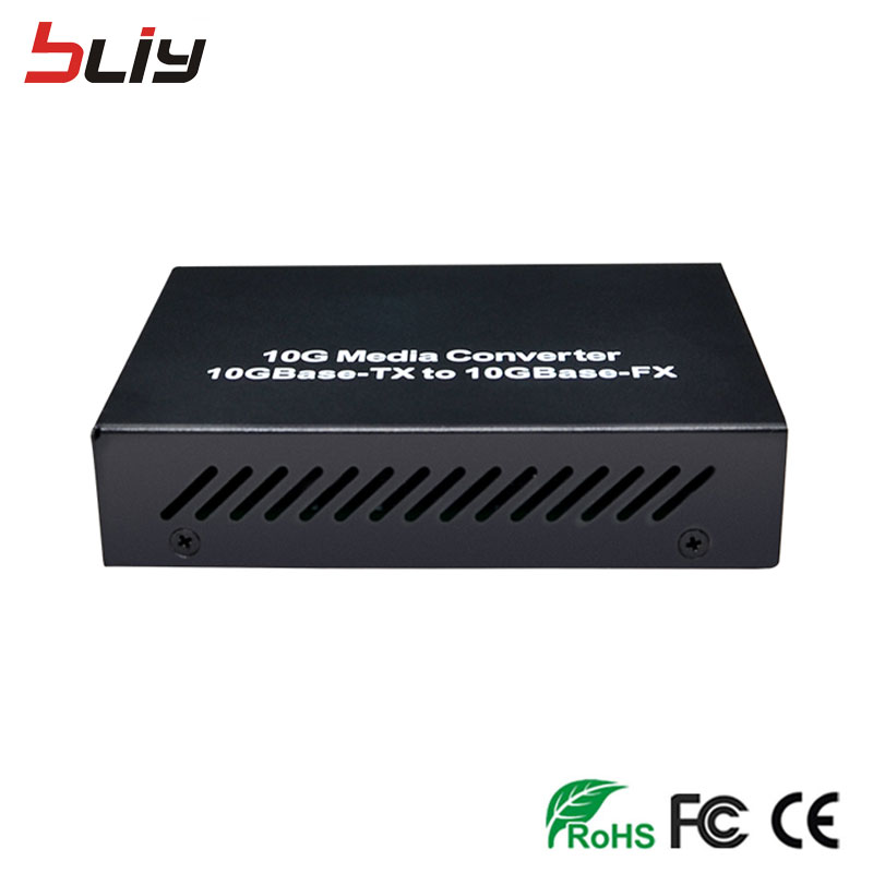 10G media converter SFP to RJ45 10GBase TX and 10GBase FX media converter without SFP module in Network Switches from Computer Office