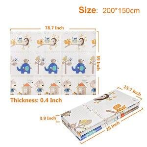 Image 2 - XPEเด็กเล่นของเล่นเด็กMatพรมเด็กPlaymatการพัฒนาเสื่อห้องเด็กทารกCrawling Padพับพรมเด็กพรม