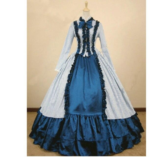 91e483997 Históricos hecho 1800 s del Victorian vestido de la guerra civil Cosplay  V-810