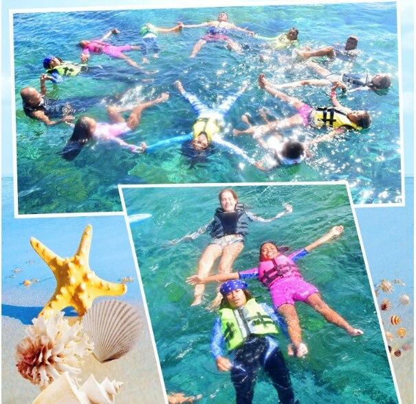 Children's life jackets buoyancy swimsuit swim vest baby snorkeling suit vest men and women professional life-saving equipment 2colors010