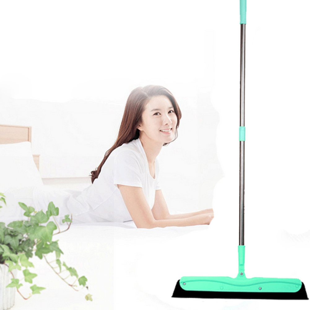 Mop Floor Squeegee with Stainless Steel Handle Removal of Water Hair&Dust