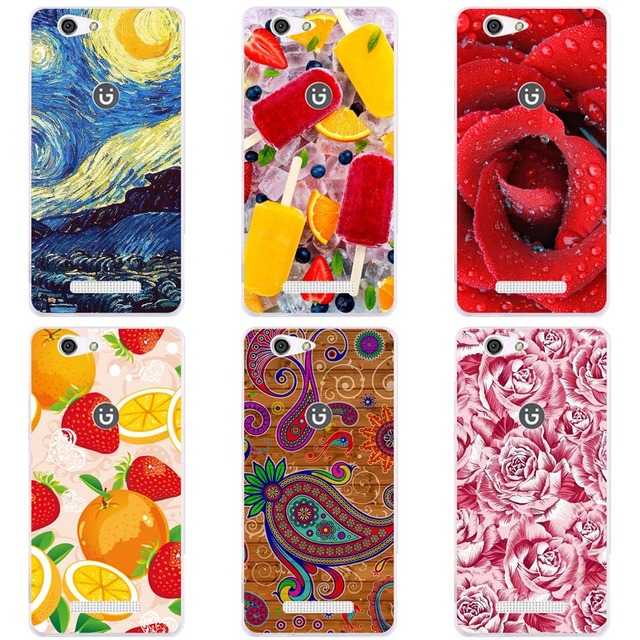 big sale 7e7fd b2add US $3.8 |Luxury Printing Case For Gionee F103 Pro Art Printed Flower Cell  Phone Cover Rose Funda Cute Animal Coque-in Fitted Cases from Cellphones &  ...