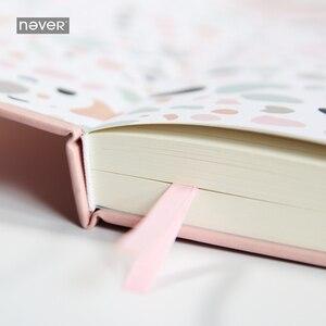 Image 4 - Плотный Блокнот серии Never Pink для записей и журналов, линейный планировщик, Подарочная коробка для девочек, подарок, канцелярские принадлежности, школьные принадлежности