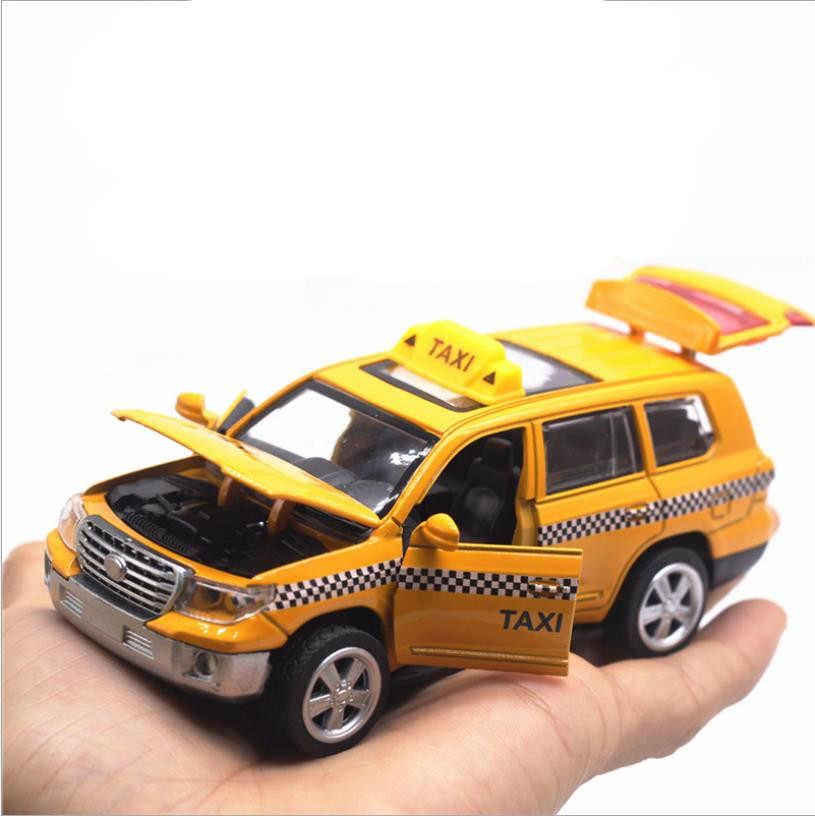 1:32 Alloy Pull Back Taxi Toy,high Simulation Back To Business Car,taxi Model,children's Collection Toys,new Products Hot