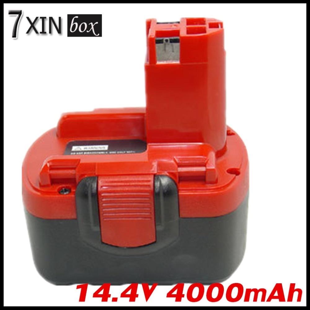 14.4V 4000mAh Li-ion Replacement Battery For BOSCH BAT038 BAT040 BAT041 BAT140 BAT159 PSR1440 ART 26 Power Tool Rechargeable 1 pc new 14 4v 2 0ah 2000mah ni cd battery for bosch bat038 bat140 bat159 bat040 bat041 vhk15 t10