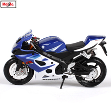 Maisto 1:18 SUZUKI GSX-R1000 original authorized simulation alloy motorcycle model toy car
