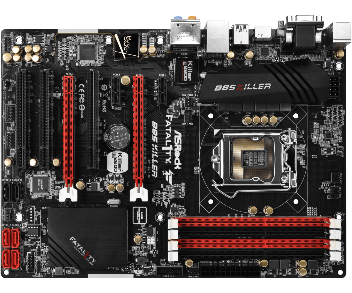 Used,ASROCK B85 Killer LGA 1150 32bg USB 3.1  ATX Desktop motherboardUsed,ASROCK B85 Killer LGA 1150 32bg USB 3.1  ATX Desktop motherboard