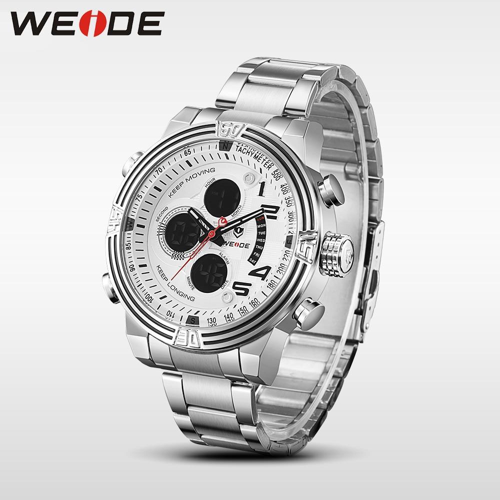 2017 nieuwe hot weide mannen horloges top merk luxe mannen business - Herenhorloges - Foto 5