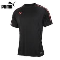 Original New Arrival 2017 PUMA EvoTRG Tech Tee Men S T Shirts Short Sleeve Sportswear