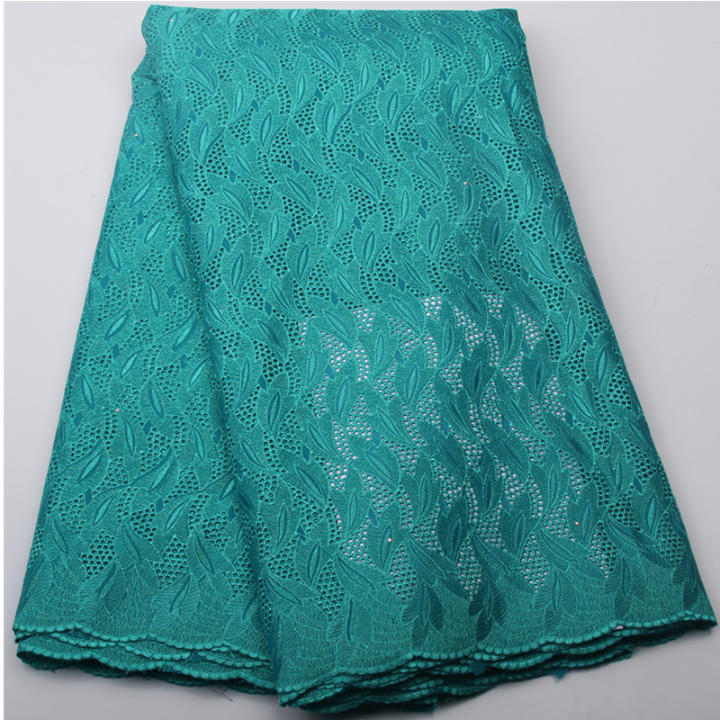 Green color Free Shipping high quality swiss voile laces switzerland dry cotton African lace fabric 5yards/pc NA450B-5Green color Free Shipping high quality swiss voile laces switzerland dry cotton African lace fabric 5yards/pc NA450B-5