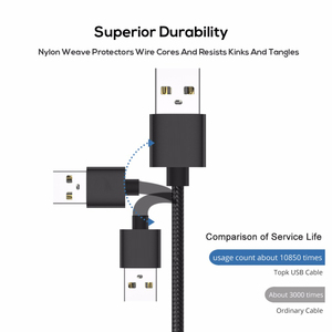Image 3 - USB C Fast Charge For Samsung S9 S8 Plus Usb Type C Cable 3.1 Charging Data Sync Mobile Phone Wire USBC For Xiami mi note 10 pro