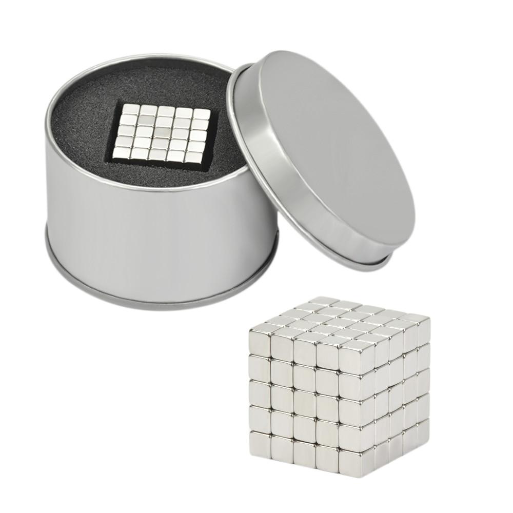 125Pcs Magnet Block