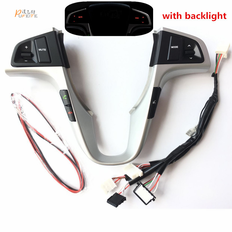Lenkrad Taste für Hyundai VERNA SOLARIS lenkrad audio volumen musik control taste schalter mit hintergrundbeleuchtung