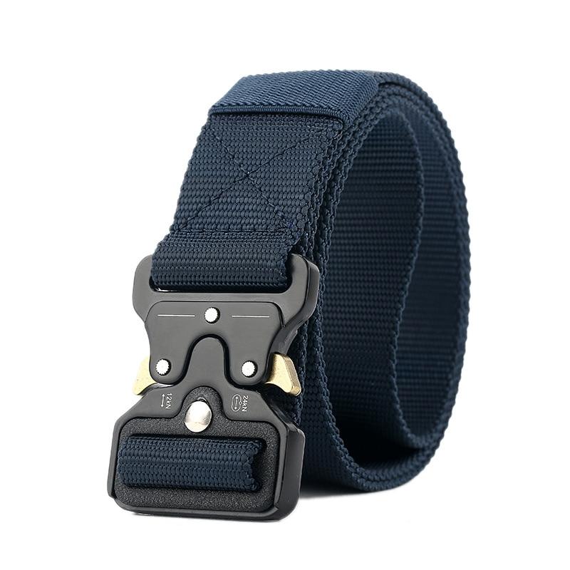 2020 Brand New Mens Tactical Belt Military Nylon Belt Outdoor Multifunctional Training Belt Combat Belts Sturdy Waistband