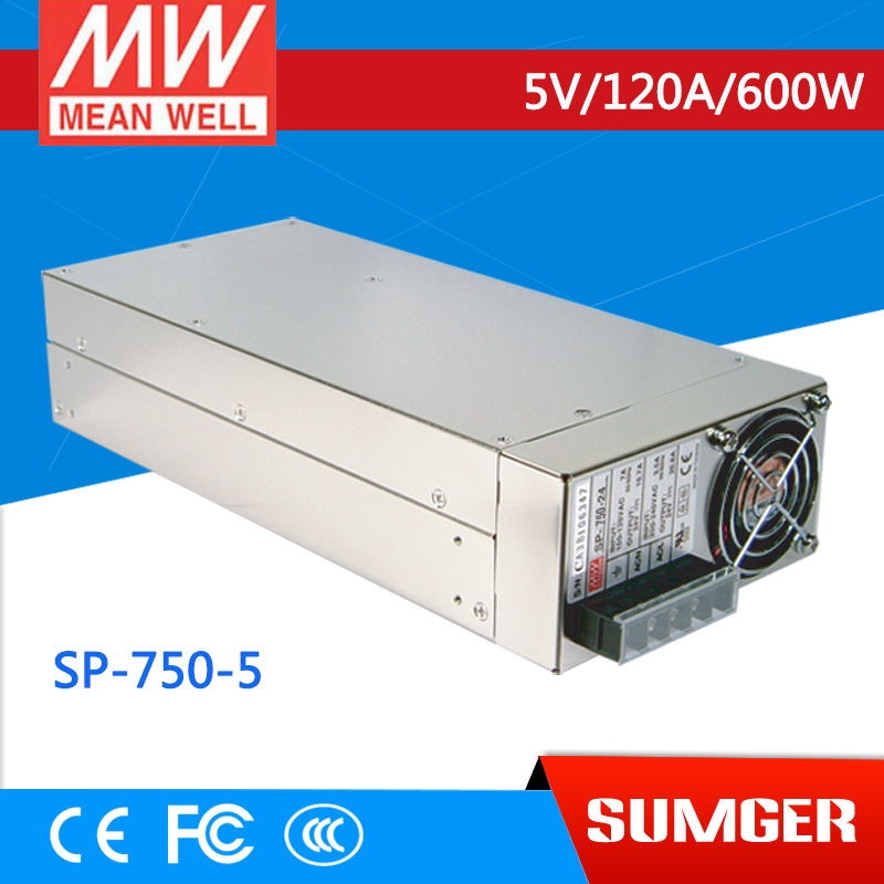 все цены на 1MEAN WELL original SP-750-5 5V 120A meanwell SP-750 5V 600W Single Output Power Supply