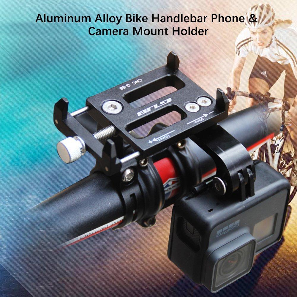 Bike Bicycle Handlebar Mount <font><b>Holder</b></font> Motorcycle Cycling <font><b>Phone</b></font> <font><b>Holder</b></font> Stand Camera Bracket for <font><b>IPhone</b></font> X GPS Xiaomi Gopro Hero 5
