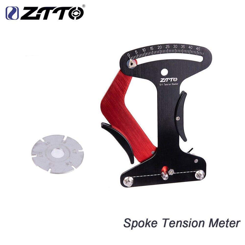 ZTTO Raios da Roda Da Bicicleta Falou Medidor de Tensão Indicador Checker Ferramenta CNC Confiável Estável Preciso Competir Com Azul Ferramenta TM-1