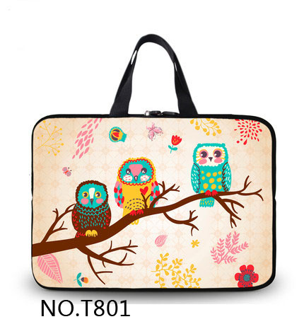 New Fashion Birds Soft Sleeve Bag Case For Apple Macbook Air Pro Retina 11 12 13 15 Laptop  Cover For Mac book 13.3 inch