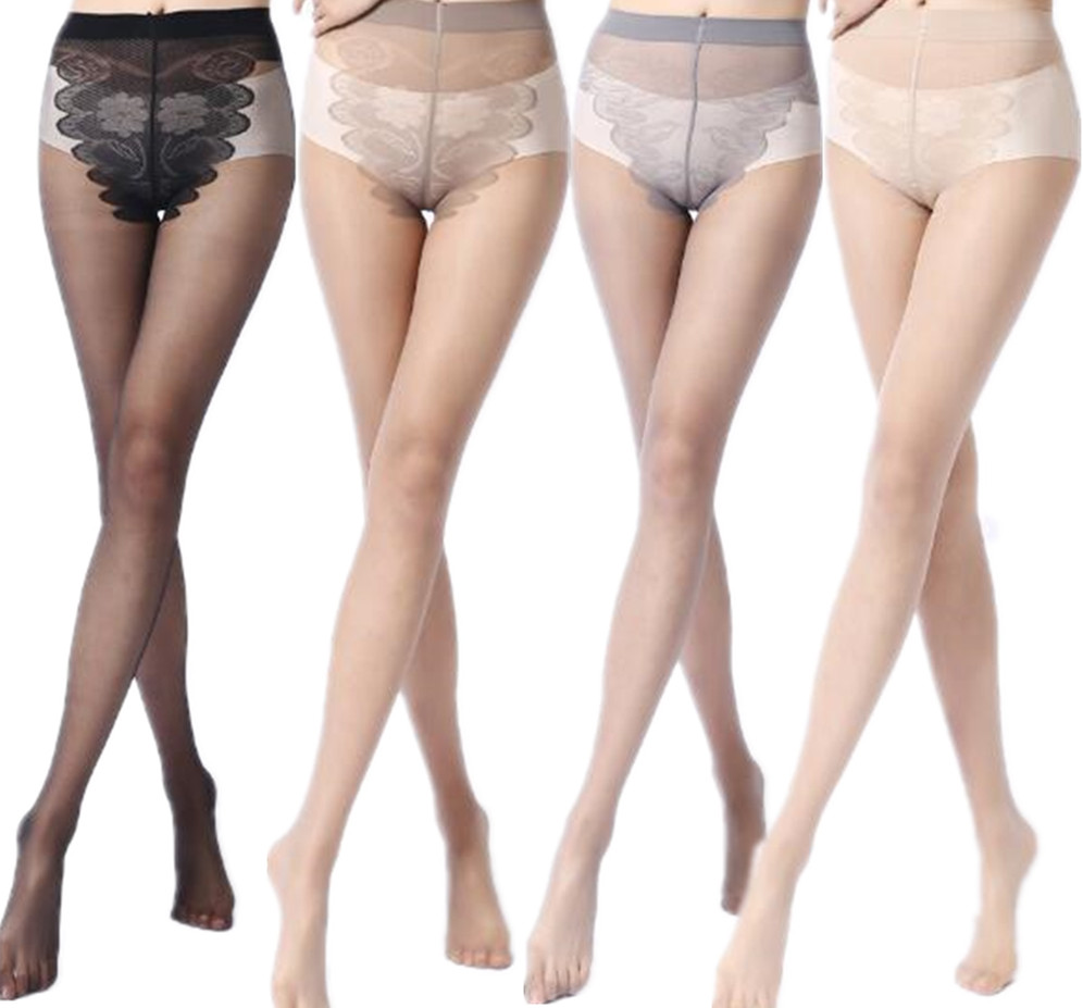 2019 NEW Spring Style Solid Color Sexy Nylon Stretchy Pantyhose Women's Fashion Cheap Tights Lady Black Stocking 4 Color