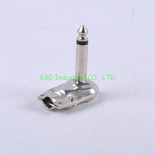 4pcs Mono plug 1/4 Phone Plug 6.35 Headphone Audio Tube Amp Guitar Socket