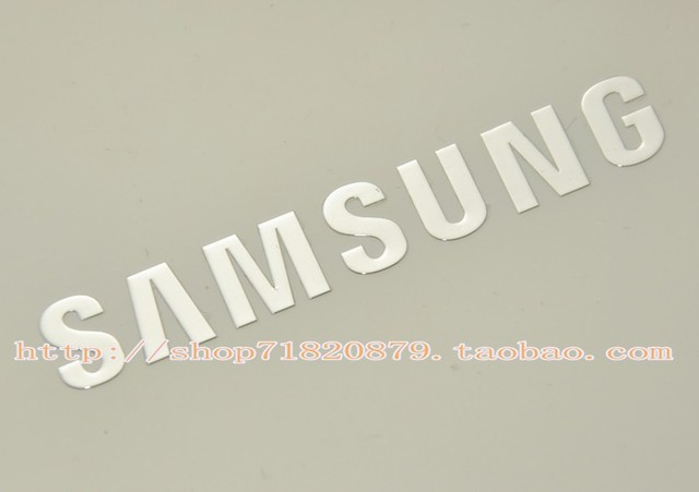For samsung for samsung logo mark of metal stickers 9300 s3 s4 note2 7100 sticker
