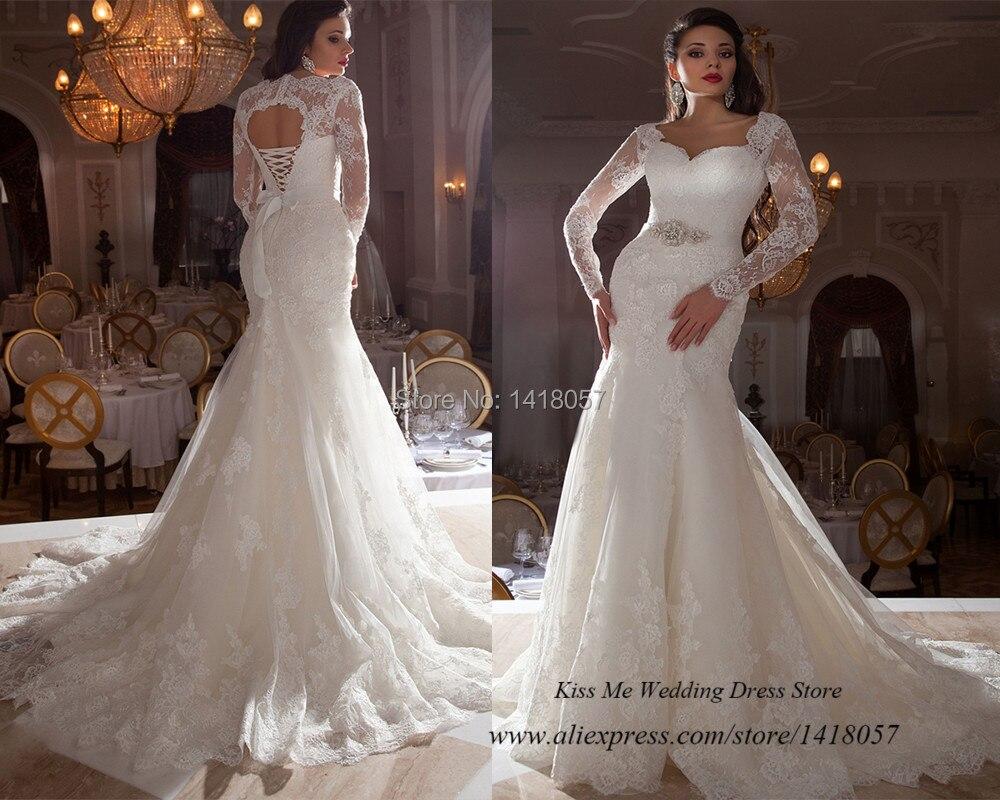 Long sleeve corset wedding dress pro deal hunters for White corset for under wedding dress