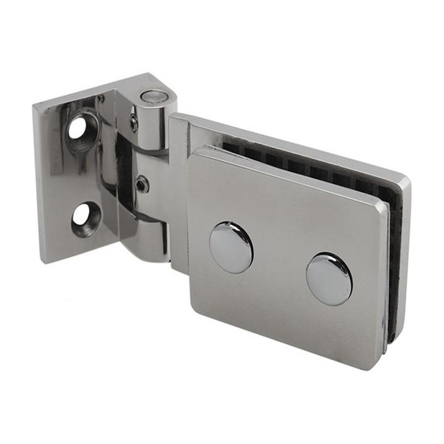 De calidad superior 90 grados de acero inoxidable 304 de montaje en pared Glass Door ducha bisagra