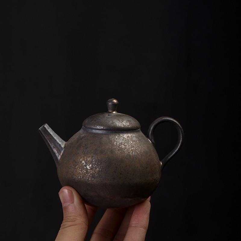 TANGPIN ceramic teapot handmade tea pot chinese kung fu tea pot with gifts box 200ml in Teapots from Home Garden